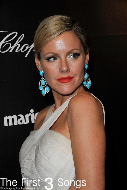Kathleen Robertson attends the 2012 Weinstein Company Golden Globes After Party at The Beverly Hilton Hotel in Beverly Hills, CA on January 15, 2012.