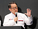 "September 19, 2017, Tokyo, Japan - Japanese automobile giant Toyota Motor president Akio Toyoda introduces Toyota's sports car series ""GR sports"" from Gazoo racing at Toyota's showroom Megaweb in Tokyo on Tuesday, September 19, 2017. GR series are sports tuned Toyota's vehicle and seven models are started to sell from September 19 through Toyota's shops.    (Photo by Yoshio Tsunoda/AFLO) LWX -ytd-"