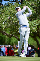 Martin Laird (SCO) watches his tee shot on 2 during round 4 of the Valero Texas Open, AT&amp;T Oaks Course, TPC San Antonio, San Antonio, Texas, USA. 4/23/2017.<br /> Picture: Golffile | Ken Murray<br /> <br /> <br /> All photo usage must carry mandatory copyright credit (&copy; Golffile | Ken Murray)