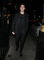 LONDON, ENGLAND - FEBRUARY 12: Isaac Carew at the Gymkhana restaurant re- launch party, Gymkhana, Albemarle Street, on Wednesday 12 February 2020 in London, England, UK. <br /> CAP/CAN<br /> ©CAN/Capital Pictures