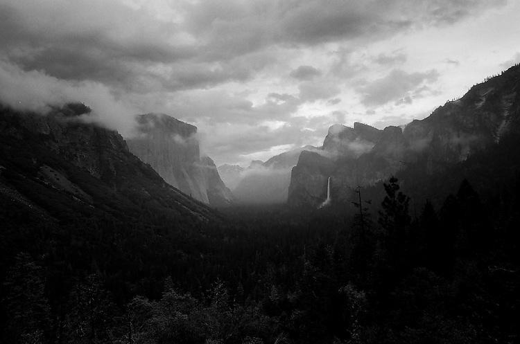Tunnel View, Yosemite  35mm on film