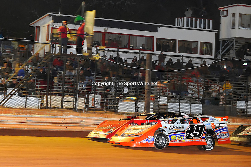 Jan 28, 2010; 9:13:33 PM; Waynesville, GA., USA; The Southern All Stars Racing Series running The Super Bowl of Racing VI at Golden Isles Speedway.  Mandatory Credit: (thesportswire.net)