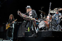Aerosmith in concert at The Palace Of Auburn Hills in Auburn Hills, Michigan. July 5, 2012. Credit: MediaPunch Inc. *NORTEPHOTO.COM*<br />