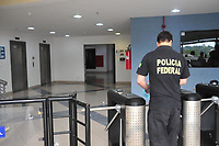 Curitiba (PR), 10/12/2019 - Lava Jato-Curitiba - A Policia Federal deflagrou, na manha de hoje (10/12), em cooperacao com o Ministerio Publico Federal e Receita Federal, a 69ª fase da Operacao Lava Jato, denominada Mapa da Mina,  na Superintendencia da Policia Ffederal em Curitiba, onde tambem foi realizada uma coletiva nesta terca feira (10). (Foto: Ernani Ogata/Codigo 19/Codigo 19)