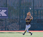 Galena centerfielder Charles Douglas makes the catch in the NIAA Division I Northern Region Baseball Championship between the Galena Grizzlies and the Reno Huskies played on Saturday, May 14, 2016 at Peccole Park in Reno, Nevada.