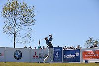 Michael Hoey (NIR) plays down the 4th during Round Two of the 2015 Nordea Masters at the PGA Sweden National, Bara, Malmo, Sweden. 05/06/2015. Picture David Lloyd | www.golffile.ie