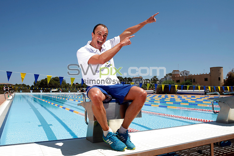 PICTURE BY VAUGHN RIDLEY/SWPIX.COM - Disability Swimming - Warm Weather Training Camp - Best Swim Centre, Colonia Sant Jordi, Mallorca, Spain - 23/05/12 - Graham Edmunds.