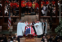 Former president George Herbert Walker Bush memorial ceremony at the National Cathedral in Washington, Wednesday,  Dec.. 5, 2018. <br /> CAP/MPI/RS<br /> &copy;RS/MPI/Capital Pictures