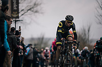 Niki Terpstra (NED/Direct Energie) up the Oude Kwaremont<br /> <br /> 71th Kuurne-Brussel-Kuurne 2019 <br /> Kuurne to Kuurne (BEL): 201km<br /> <br /> ©kramon
