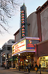 Santa Cruz Pacific Ave. in winter, Regal Cinemas 9