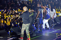 AUBURN HILLS, MI  - DECEMBER 1: Big Sean in concert with special guest Kanye West and Common at The Palace of Auburn Hills in Auburn Hills, Michigan. December 1, 2012. Credit: Joe Gall/MediaPunch Inc.