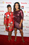 Star Jones and Laila Ali attends the 14th Annual Red Dress Awards presented by Woman's Day Magazine at Jazz at Lincoln Center Appel Room on February 7, 2017 in New York City.