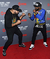 01 December 2018 - Los Angeles, California - The Kid Mero, Desus Nice. Heavyweight Championship Of The World 'Wilder vs. Fury' held at The Staples Center. <br /> CAP/ADM/BT<br /> &copy;BT/ADM/Capital Pictures