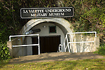 La Valette Underground Military museum, St Peter Port, Guernsey, Channel Islands, UK