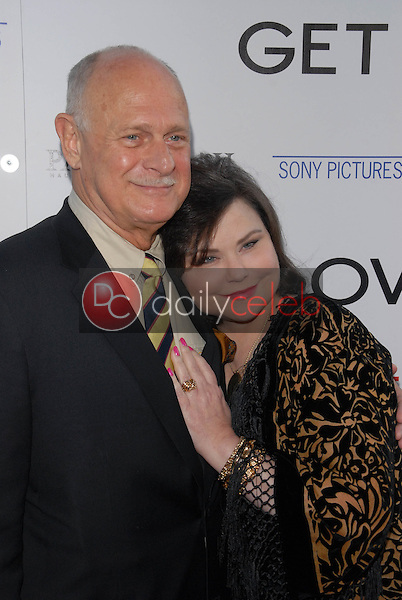 """Gerald McRaney and Delta Burke<br /> at the premiere of """"Get Low,"""" Academy of Motion Picture Arts and Sciences, Los Angeles, CA. 07-27-10<br /> David Edwards/DailyCeleb.com 818-249-4998"""