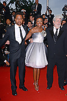"Cuba Gooding Jr.,Mellody Hobson and George Lucas attending the ""Cosmopolis"" Premiere during the 65th annual International Cannes Film Festival in Cannes, France, 25.05.2012...Credit: Timm/face to face /MediaPunch Inc. ***FOR USA ONLY***"