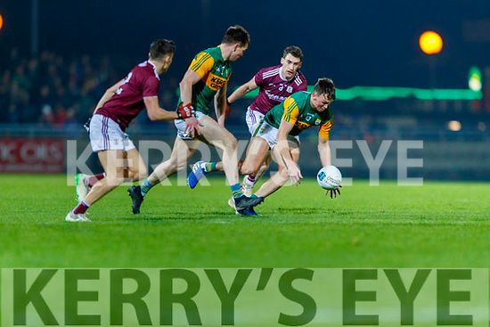 Gavin O'Brien, Kerry in action against Ronan Steede, Galway  during the Allianz Football League Division 1 Round 2 match between Kerry and Galway at Austin Stack Park in Tralee, Kerry.