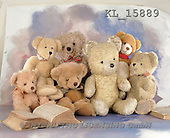 Interlitho, Alberto, CUTE ANIMALS, teddies, photos, 7 teddies, book(KL15889,#AC#)