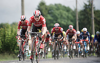 Andr&eacute; Greipel (DEU/Lotto-Soudal) leading the way<br /> <br /> stage 4: Hotel Verviers - La Gileppe (Jalhay/BEL) 186km <br /> 30th Ster ZLM Toer 2016