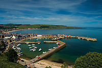 Stonehaven and Stonehaven Harbour and the Aberdeenshire Coast, Aberdeenshire, Scotland