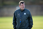 St Johnstone Training…27.10.17<br />Manager Tommy Wright pictured during training this morning at McDiarmid Park ahead of tomorrows trip to Partick Thistle<br />Picture by Graeme Hart.<br />Copyright Perthshire Picture Agency<br />Tel: 01738 623350  Mobile: 07990 594431