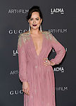 Dakota Johnson attending the LACMA ART and FLIM Gala 2017 honoring Mark Bradford and George Lucas. held at the LACMA in Los Angeles, CA. on November 4, 2017