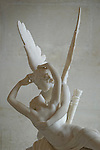 Sculpure from Antonio Canova, Museum du Louvre, Paris, France