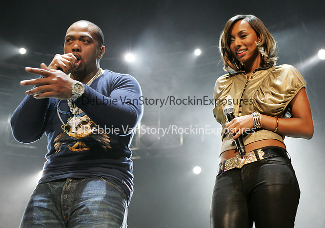 Timbaland & Keri Hilson  performs live at The 1st Annual 102.7 KIIS FM Homecoming Concert held at The Honda Center  in Anaheim, California on October 27,2007                                           Copyright 2007 RockinExposures