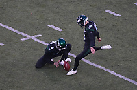 Entscheidendes Field Goal von kicker Sam Ficken (9) of the New York Jets - 08.12.2019: New York Jets vs. Miami Dolphins, MetLife Stadium New York