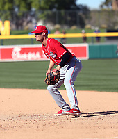 Brantley Bell - Cincinnati Reds 2020 spring training (Bill Mitchell)