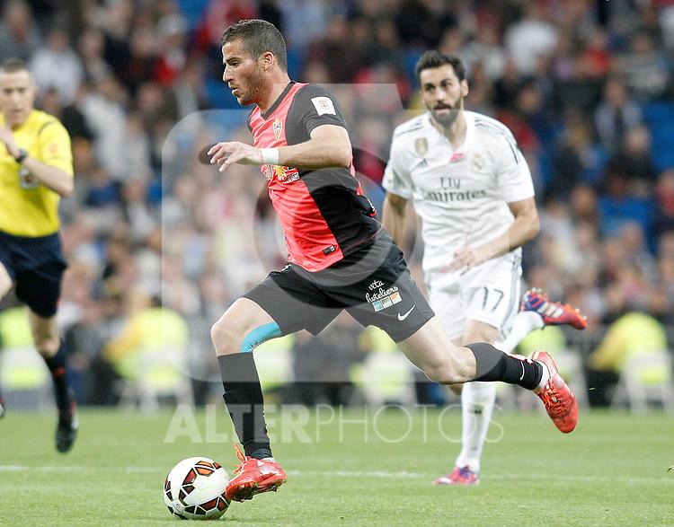 Almeria's Tomer Hemed during La Liga match. April 29,2015. (ALTERPHOTOS/Acero)