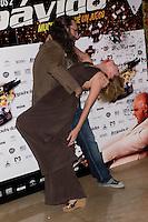 26.07.2012. Premier at Palafox Cinema in Madrid of the movie 'Impavido&acute;, directed by Carlos Theron and starring by Marta Torne, Selu Nieto, Nacho Vidal, Carolina Bona, Julian Villagran and Manolo Solo. In the image Carlos Theron and Carolina Bona (Alterphotos/Marta Gonzalez) /NortePhoto.com <br /> <br /> **CREDITO*OBLIGATORIO** *No*Venta*A*Terceros*<br /> *No*Sale*So*third* ***No*Se*Permite*Hacer Archivo***No*Sale*So*third*&Acirc;&copy;Imagenes*con derechos*de*autor&Acirc;&copy;todos*reservados*.