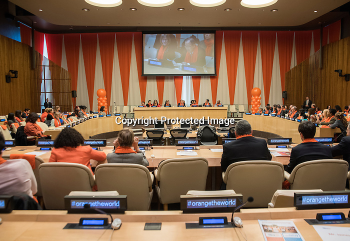 Special event in observance of the International Day for the Elimination of Violence against Women (organized by Secretary-General's campaign UNiTE to End Violence against Women)<br /> Remarks by the Secretary-General