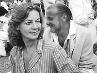 Lauren Bacall Bob Fosse 1982<br /> Photo By Adam Scull/PHOTOlink.net