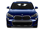 Car photography straight front view of a 2018 BMW X2 M Sport X 5 Door SUV