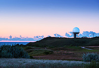 Observatory overlooking the ocean, Turo, Cape Cod, Massachusetts,, USA