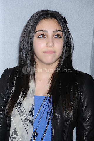 Lourdes Ciccone Leon at the premiere of 'Harry Potter and the Deathly Hallows - Part 1' at Alice Tully Hall  in New York City. November 15, 2010. Credit: Dennis Van Tine/MediaPunch