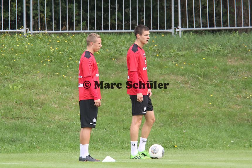 Sonny Kittel und Johannes Flum (Eintracht)