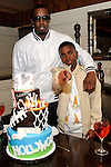 "Sean ""P Diddy"" Combs and his son Christian Combs at Lavo  restaurant, Las Vegas, NV, April 1, 2010© Al Powers / RETNA ltd"