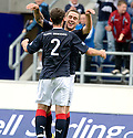 21/08/2010   Copyright  Pic : James Stewart.sct_jsp016_falkirk_v_stirling_alb  .:: JACK COMPTON CELEBRATES WITH JASON MARR AFTER HE SCORES THE THIRD :: .James Stewart Photography 19 Carronlea Drive, Falkirk. FK2 8DN      Vat Reg No. 607 6932 25.Telephone      : +44 (0)1324 570291 .Mobile              : +44 (0)7721 416997.E-mail  :  jim@jspa.co.uk.If you require further information then contact Jim Stewart on any of the numbers above.........