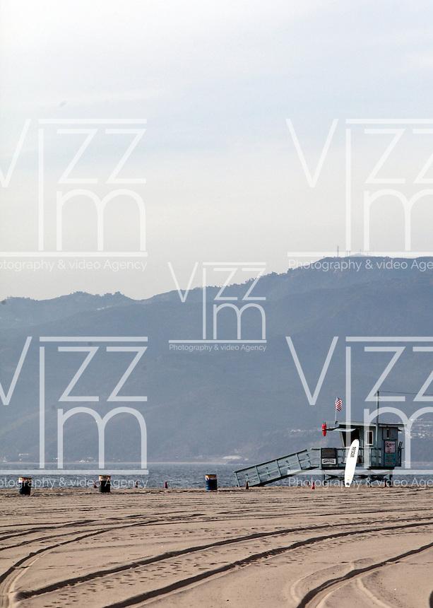 SANTA MONICA-ESTADOS UNIDOS. Debido a su clima mediterraneo, Santa Monica es uno de los mas importantes atractivos turisticos del condado de Los Angeles.  Photo: VizzorImage