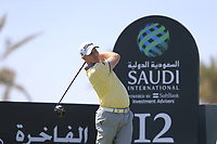 Richard McEvoy (ENG) on the 12th tee on the 11th tee during the final round of  the Saudi International powered by Softbank Investment Advisers, Royal Greens G&CC, King Abdullah Economic City,  Saudi Arabia. 02/02/2020<br /> Picture: Golffile | Fran Caffrey<br /> <br /> <br /> All photo usage must carry mandatory copyright credit (© Golffile | Fran Caffrey)