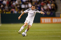 LA Galaxy midfielder Chris Klein (7) moves downfield with the ball. The LA Galaxy and Toronto FC played to a 0-0 draw at Home Depot Center stadium in Carson, California on Saturday May 15, 2010.  .