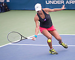 Yulia Putintseva (KAZ) loses to Christina McHale (USA) 6-2, 1-6, 7-5 at the Citi Open in Washington, DC,  on August 6, 2015.