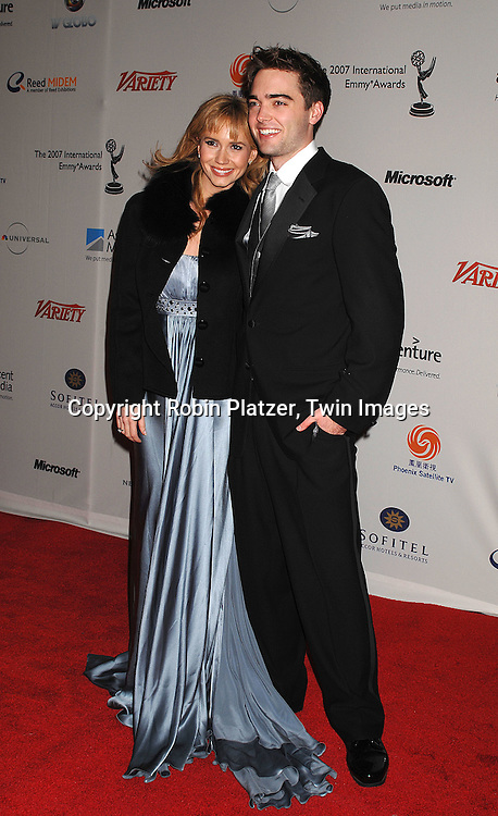 arriving for the 35th Annual International Emmy Awards on November 19, 2007 at The New York Hilton. ..Robin Platzer, Twin Images