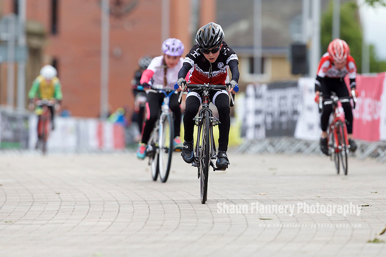 Pix: Shaun Flannery/shaunflanneryphotography.com<br /> <br /> COPYRIGHT PICTURE&gt;&gt;SHAUN FLANNERY&gt;01302-570814&gt;&gt;07778315553&gt;&gt;<br /> <br /> 31st May 2015<br /> Doncaster Cycle Festival 2015<br /> Under 10s <br /> Sponsored by Bicycle Buddy