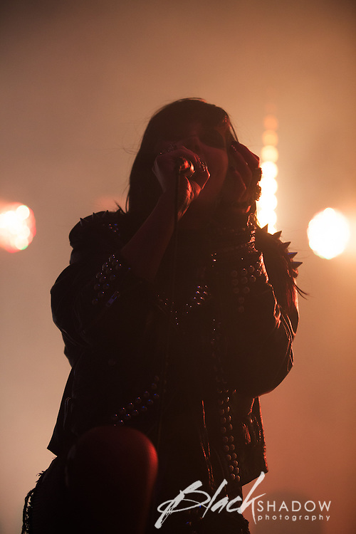 Sleigh Bells performing at The Big Day Out, Melbourne, Flemington Racecourse, 26 January 2013