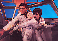 Fantastic Voyage (1966)<br /> Stephen Boyd &amp; Raquel Welch<br /> *Filmstill - Editorial Use Only*<br /> CAP/KFS<br /> Image supplied by Capital Pictures