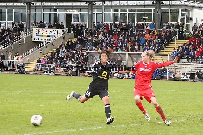 Kozue Ando (FFC) setzt sich durch - 1. FFC Frankfurt vs. VfL Sindelfingen