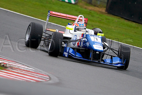 07.04.2012 Cheshire, England.  English driver Jack Harvey in his Carlin Dallara Volkswagen in action during rounds 1, 2 & 3 of the Cooper Tires British Formula 3 International Series at Oulton Park.